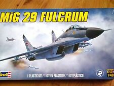 Revell Monogram 1:48 MiG-29 Fulcrum Aircraft Model Kit