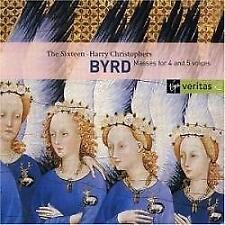 The Sixteen/Harry Christophers - Byrd - Motets And Masses (NEW 2 x CD)