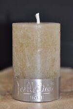4x Kerze Stumpenkerze Kerzen Votivkerze 4 x 6,3 cm Gelb Curry von PTMD