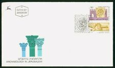 MayfairStamps Israel 1989 Archaeology in Jerusalem Tabs First Day Cover wwr15195