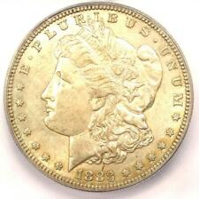 1883-S Morgan Silver Dollar $1 - Certified ICG AU55 - Rare Date - Near MS UNC!