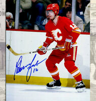 Hakan Loob Calgary Flames Autographed 8x10