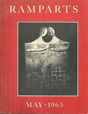 RAMPARTS MAGAZINE VOL 2, #1-5, May 1963 TO SPRING 1964 COMPLETE IN RED SLIPCASE