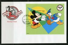 Disney Maldives Mickey & Donald 1999 Souvenir Sheet First Day Cover