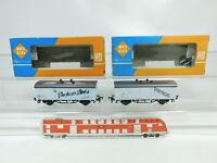 BJ8-0,5# 2x Roco H0/DC Güterwagen DB: 4312 Seefische + 4312 B Poscher NEUW+(OVP)