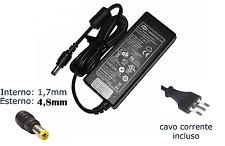 Alimentatore Compatibile Notebook Pc Portatile Hp 18.5V 3.5A 65W 4.8*1.7mm hsb