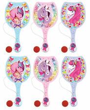 6 Pony Paddel Bats-Pinata Spielzeug Loot/Partypack Kinder/Kids Pferd Mädchen