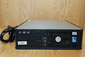 Dell Windows 10 Pro 4GB DDR3 RAM 250GB HDD Intel Core 2 Duo DP VGA WiFi Desktop