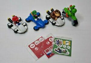Super Mario Kart Cars x 4