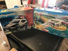 Lot Of 2 New Playmobil Building Blocks Sets City Police Cruiser And Wild Life