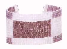 Vibrante-Rosa & Rosso Perline ancoraggio in PALLA Bracciale Chiusura (zx176 / 213)