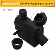 Font & Rear Twin Outlet Windscreen Washer Pump For Hyundai  Santa Fe 1&2 Elantra