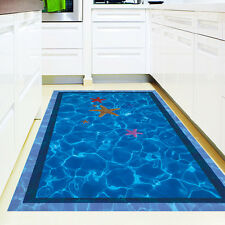 3D Swimming Pool Large Wall Stickers Home Decor Bathroom Floor Art Decal Sticker