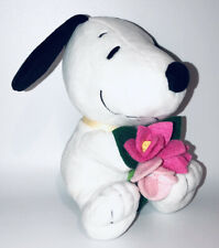 Hallmark 8� Rare Snoopy Peanuts Felt Flowers Mother's Day Plush Collectible Toy