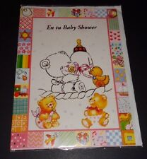 En tu Baby Shower-Spanish Baby Shower Card