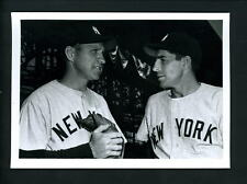 Phil Rizzuto & Enos Slaughter Press Original Photo by Don Wingfield Yankees
