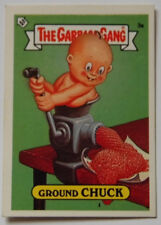 GARBAGE GANG  STICKER  GROUND CHUCK 3a 1987