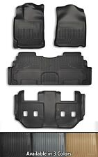 Husky Liners WeatherBeater 3 Row Floor Mats - Choice Of Color
