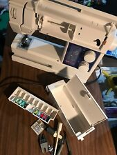Husqvarna Viking Daisy 310 Sewing Machine  SWEDEN With Case Some Accessories