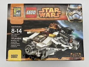 LEGO Star Wars Comicon039 Exclusive Ghost Microfighter New Sealed Retired Rare