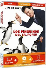 Mr. Popper´s Penguins - Los Pinguinos Del Sr.Poper (Dvd+Bd+Copia Digital)