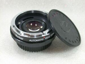Vivitar 1.5x Teleconverter For Canon FD & FL
