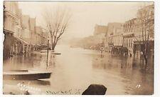Vintage photograph of 1936 Susquehanna flood Sunbury, Pennsylvania photo