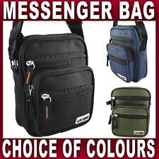 Mens Ladies SMALL Canvas Messenger Shoulder BAG cross body travel Utility Work