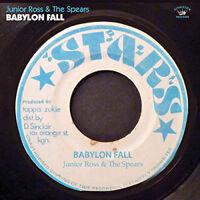 """Junior Ross & The Spear : Babylon Fall VINYL 12"""" Album (2018) ***NEW***"""