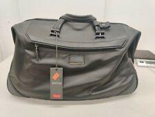 Tumi Ashton Lenox Leather Duffel Bag - Black