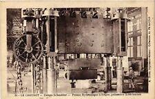 CPA  Le Creusot - Usines Schneider - Presse Hydraulique á Forger  (637446)