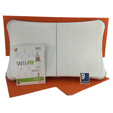 Nintendo Wii Fit Balance Board With Wii Fit Video Game