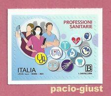 Italia 2021  PROFESSIONI SANITARIE  Francobollo singolo