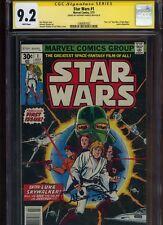 Star Wars #1 CGC 9.2 SS Anthony Daniels MARVEL COMICS 1977
