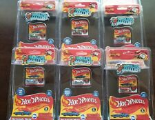 LOT OF (6) HOT WHEELS 2017 WORLD'S SMALLEST REAL MINI DIECAST AS PICTURED #516