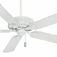 """Casablanca 60"""" Cottage White Finish Ceiling Fan with 4 Speed Direct Drive Motor"""