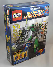 LEGO Super Heroes 6862 Superman vs Power Armor Lex New In Box Factory Sealed NIB