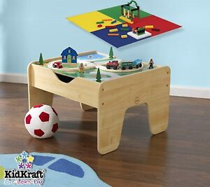 KidKraft 2-in-1 Activity Play Table with Board