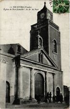 CPA  Ile-d'Yeu - Port-Joinville - Eglise - N.-D. du Port  (636813)