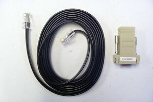 Storagetek 10410823 and 410828901 Connector: D-Sub to RJ45 with RDC 10' Cable