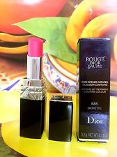 Christian Dior Rouge Baume Natural Lip Treatment Couture #688 Diorette NEW 3.2g
