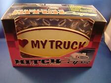 "Love (Heart) My Truck Hitch Caps Fits 2"" Receiver Brand New"