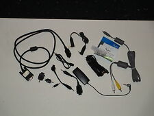 Lot of 9 Misc Adapters Plus one camera Av cable! ~*~*~ Special Sale Price ~*~*~