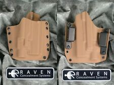 NEW RAVEN CONCEALMENT GLOCK 19 23 32 TLR-3 LIGHT SHORT SHIELD COYOTE HOLSTER