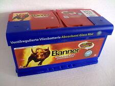 Bannière Agm approvisionnement Batterie 12v 92ah 92 Ah 59201