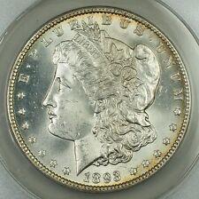 1893 Morgan Silver Dollar, ANACS MS-64