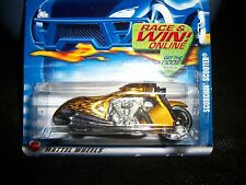 8 cars Hot Wheels Scorchin' Scooters; all MOC, all different