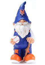 "New York Mets 11"" Male Garden Gnome [NEW] MLB Yard Landscape Doll Mascot CDG"