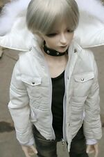 [wamami]Boy White Quilted Jacket/Coat/Clothes For SD17 AOD DOD DZ BJD Dollfie