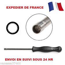 Tournevis reglage carburateur Splined 2 tronconneuse/débroussailleuse